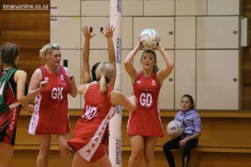 Wednesday Night Netball 0049