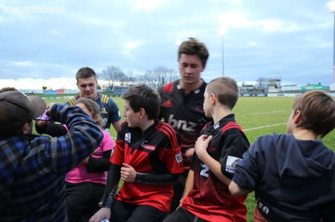 After Crusaders v Highlanders 0067