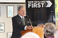 WInston Peters in Town 0030