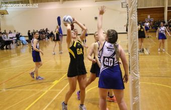Premier Netball Final 0196
