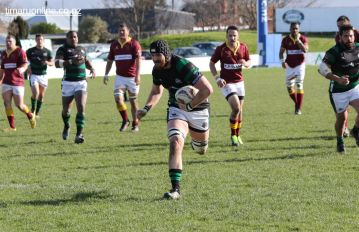 Kieran Coll eyes the try line