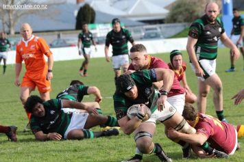 Kieran Coll forges ahead